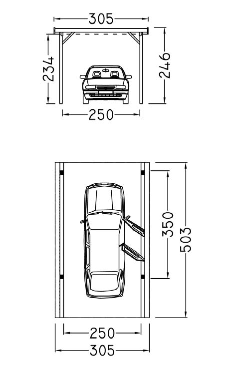 Hockenheim, normale Ausführung, Bausatz B